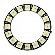 Inel de LED-uri RGB WS2812 cu 16 LED-uri