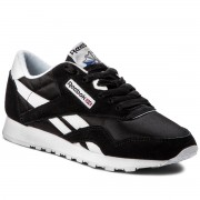 Обувки Reebok - Cl Nylon 6606 Black/White