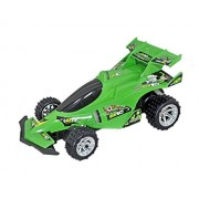 Babysid collections Remote Control Car for Kids Gifting Green Racing Car with Suspension and Power full Motor Medium Size