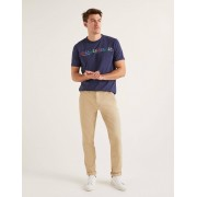 Boden Chino léger coupe slim NEU Homme Boden, Natural - 30 34in
