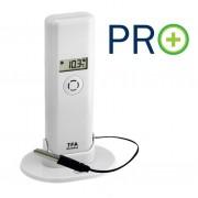 WEATHER HUB-Предавател за температура и влажност с дисплей, кабелен сензор и PRO функции - 30.3302.02