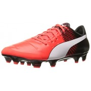 PUMA Men s Evopower 2.3 FG Soccer Shoe Red Blast/Puma White 7 D(M) US