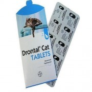 Drontal Allwormer Cats Refill - 4 Tablets