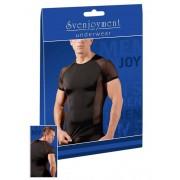 Svenjoyment Powernet Insert Raglan Short Sleeved T Shirt Black 2160897
