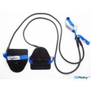 Posilňovacie plavecké gumy obtiažnosť: ľahká modrá