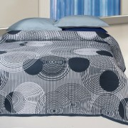 Cuvertură de pat Scorpio gri, 240 x 260 cm, 240 x 260 cm