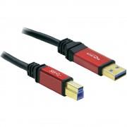 USB 3.0 kábel 5m piros/ fekete (649864)