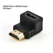 HDMI Male to HDMI Female Right Angle 90 DEGREE L SHAPE HDMI Connector