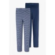 C&A Ski-ondergoed-biokatoen-duopack, Blauw, Maat: 110/116