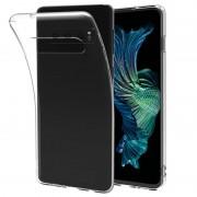 Capa de TPU Saii Premium Anti-Slip para Samsung Galaxy S10+ - Transparente