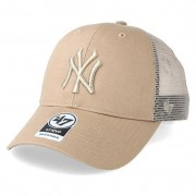 47 Brand Keps New York Yankees Branson Khaki Trucker - 47 Brand