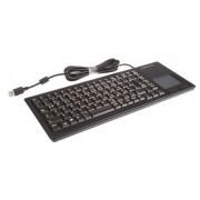 Cherry Tastiera Nero Cablato USB , QWERTZ Compatta, G84-5500LUMDE-2