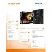 Gigabyte GA-B250-HD3P s1151 B250 4DDR4