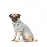 Ralph Lauren Pet Cotton Mesh Dog Polo Shirt - Andover Heather - Size: Small