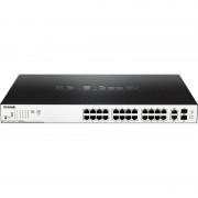 Switch D-Link DGS-1100-26MP 24 porturi