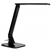 OneConcept Daily Light-BK - Lámpara de mesa LED negra (LEU4-DAILY LIGHT-BK)