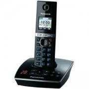 Безжичен DECT телефон Panasonic KX-TG8061FXB, Черен, 1015112
