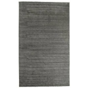 RugVista Alfombra Handloom fringes - Gris Oscuro 300x500 Alfombra Moderna
