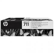 HP Original Druckkopf + Tintenpatrone Bk,C,M,Y C1Q10A