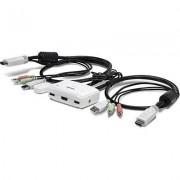 Trendnet TK-215i switch per keyboard-video-mouse (kvm) Bianco