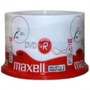 DVD-R MAXELL, 4,7 GB, 16x, Printable, 50 pk cake box -