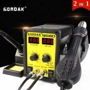Statie de lipit cu aer cald si letcon Gordak 968D