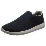 Clarks Men's Torset Easy Navy Leather Nordic Walking Shoes - 7.5 UK/India (41.5 EU)