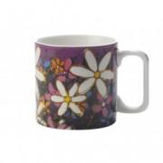 Cana White Tangled Gerberas, Mugs, 400 ml