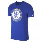 Chelsea FC Crest Herren-T-Shirt - Blau