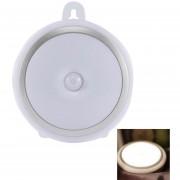 Louiwill Sensor De Movimiento Night Light Lámpara Recargable Portátil LED Powered Rechargeable, Hasta 90 Días Por 2 Horas De Carga, Dorado Y Blanco, Luces Cálidas Y Frías