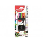 "Carioci Maped ""Graph`Peps"" 0,4 mm, diverse culori"