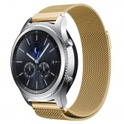 Samsung Gear S3 Luxury Milanese Magnetic Wristband - Gold