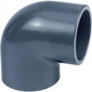 AquaForte PVC knie 90 graden - 50 mm