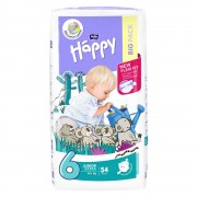 HAPPY Junior Extra Dětské pleny 54 ks