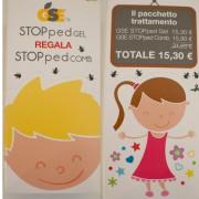 GSE STOPped Gel regala StoppedCom, Flacone da 50ml con pettine in regalo