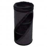 Rascador barril Diogenes M Basic Diagonal Negro - Negro