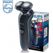 Afeitadora eléctrica Philips RQ312 afeitadora de velocidad inalámbrica para hombre lavado de cuerpo entero 2 cuchillas afeitadora con Mango antideslizante gris negro(gray-black)