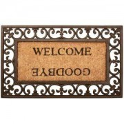 Esschert Design Deurmat welcome goodbye