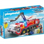 Playmobil Airport Fire Engine With Lights & Sound