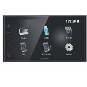 "Kenwood Dmx110bt Autoradio Bluetooth 2 Din Con Schermo 6.8"" Touch Mp3 Radio Fm Usb Nero - Dmx110bt"