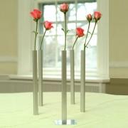 Peleg Design Magnetische Vaasjes (Set Van 5) - Zilver - Peleg Design