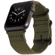 BarRan Correa para Apple Watch Sport Correa 38mm 40mm, Nylon Quick Release Adapters Correa de Reloj para Apple Watch Sport,Series 5,4,3,2,1