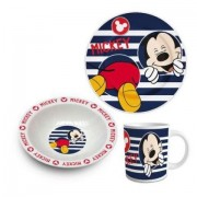 Set mic dejun 3 piese ceramica Mickey Mouse