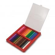 Melissa Doug set 24 creioane colorate triunghiulare