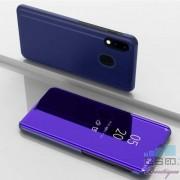 Husa Protectie Flip Cu Stand Samsung Galaxy M20 Tip Oglinda Albastra