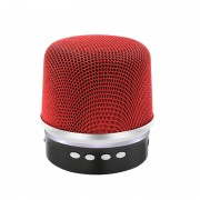Boxa portabila NBY BY1030, Bluetooth, Radio FM, USB, microSD, Handsfree, 300mAh, Red