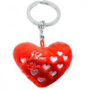 Faynci Designer Decorative Teddy with I Love You Key chain for Gifting