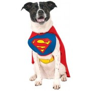 Rubie's Costume DC Heroes and Villains Collection Pet Costume, Superman, Medium