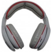 Casti Profesionale Bluetooth 3.0 / Card MicroSD / CrystalClearSound / Pliabile Alb/Rosu