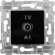 SOPIA Antennen Steckdose B/R (schwarz-matt) 159399